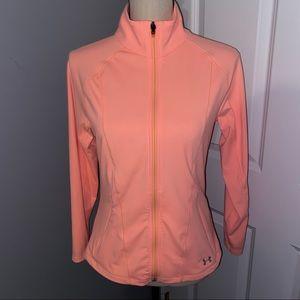Under Armour Peach Zip Up Jacket